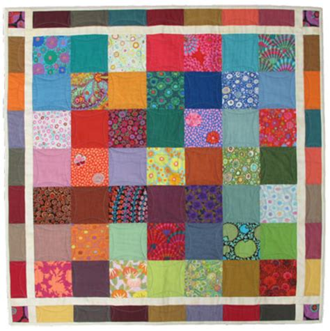 Cotton Patch Quilts by The Cotton Patch Scrap Charm Throw Quilt Pattern Free Pdf