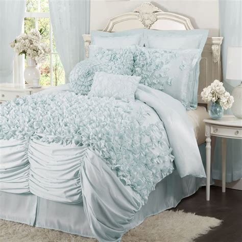 lush decor comforter sets lush d 233 cor c00236p12 lucia 4 pc comforter set ebay