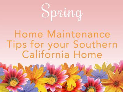 spring home tips spring home maintenance