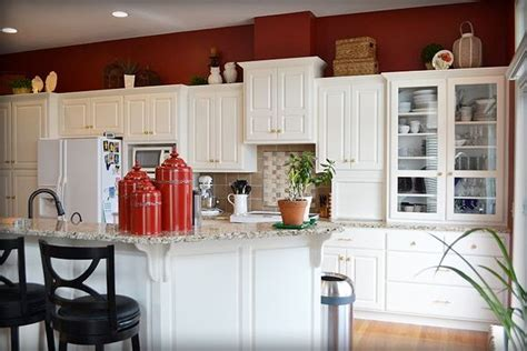 red kitchen with white cabinets 81 best images about kitchen remodel on pinterest