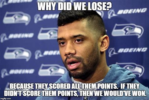 Seahawks Lose Meme - seattle loses to panthers imgflip