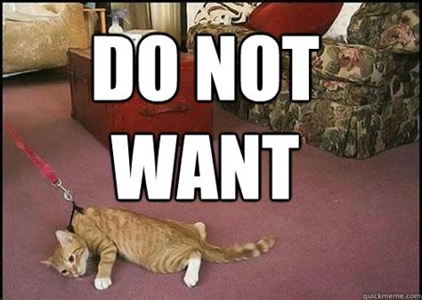 Do Not Want Meme - cats are not dogs memes quickmeme