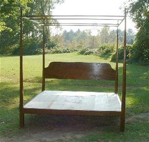 pencil post bed with canopy platform bed by tyfinefurniture holmes fine furniture