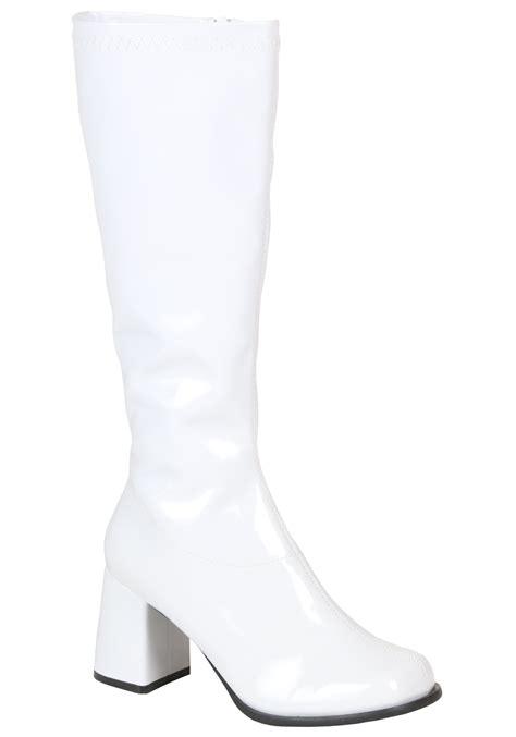 white boots womens white gogo boots