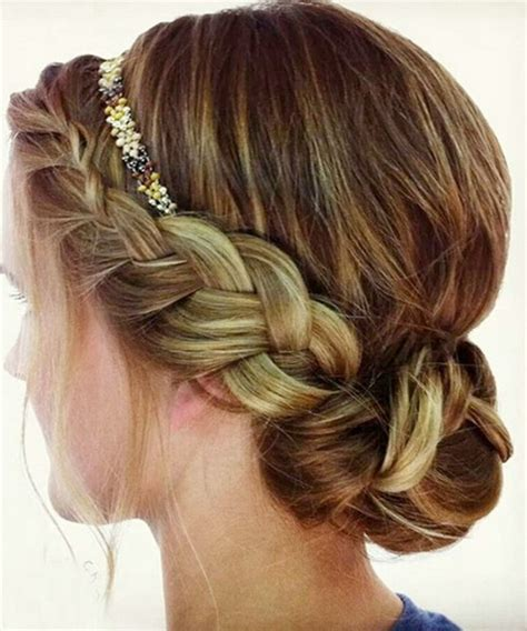formal hairstyles headbands prom hairstyles with headband