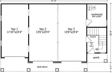 detached garage floor plans garage appealing 3 car garage plans design 3 car garage
