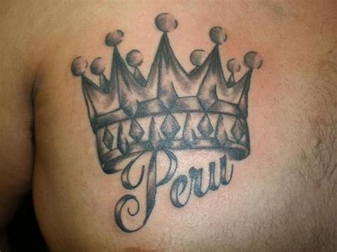 crown with name tattoo crown tattoos