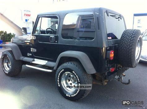 1994 Jeep Wrangler Weight 1994 Jeep Wrangler 4 0l Black Bigfoot Car Photo