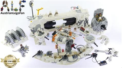 Lego 75098 Wars Assault On Hoth New Product lego wars 75098 assault on hoth ultimate collectors series lego speed build review