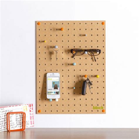 Pegboard Design | pegboard with wooden pegs small by block design