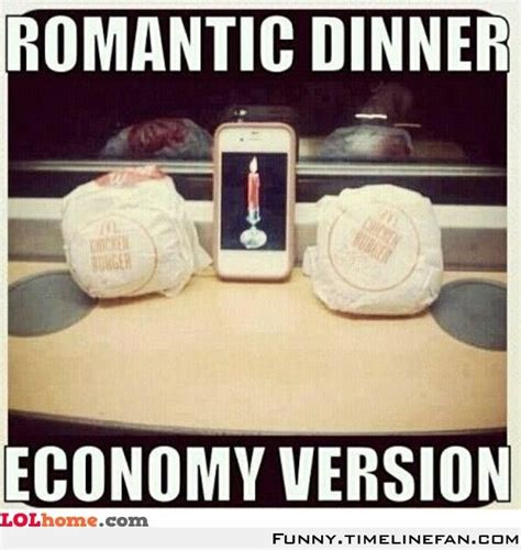 Romantic Memes - romantic dinner funny pic memes and jokes