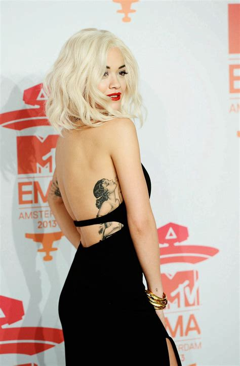 rita ora tattoos ora s want this hair color