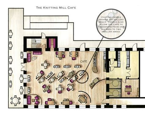 cafe store layout cafe floor plans exles in color google search cafe