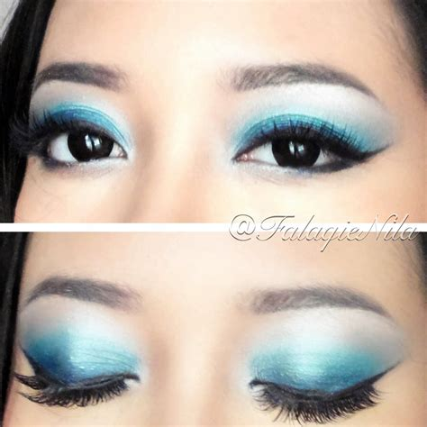 Eyeshadow Biru Tua blue mood the brown skinned s diary