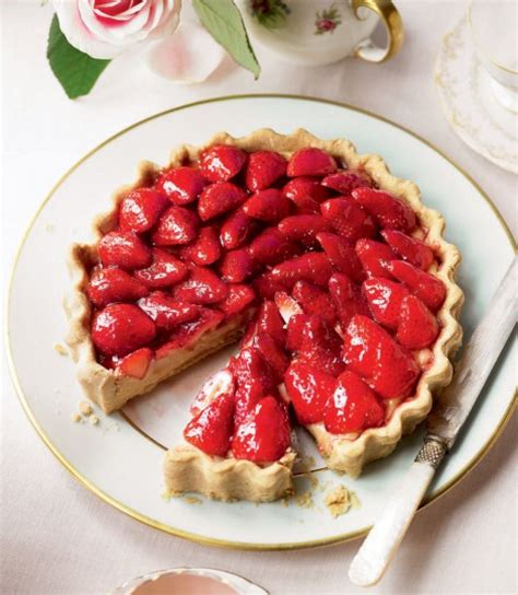 carbohydrates in 5 strawberries strawberry tart delicious magazine