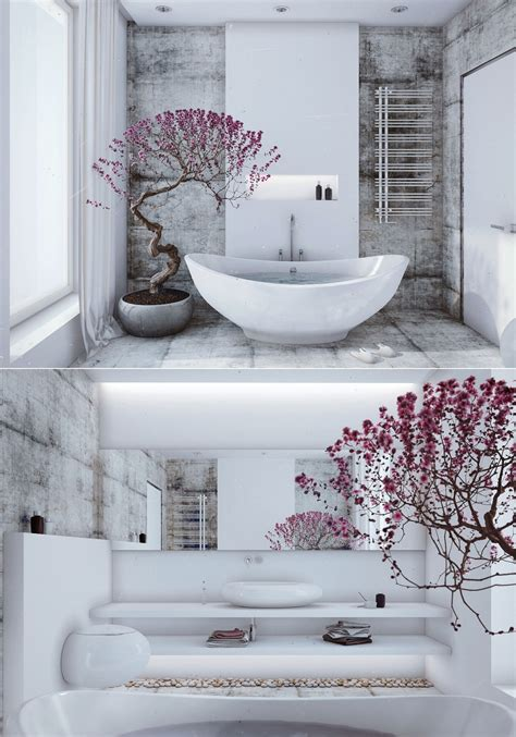 Designs Of Bathrooms Zen Inspired Interior Design