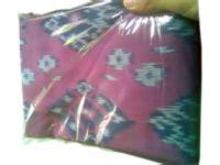 Tenun Baron Biru Mix Orange kain kemeja cv tenun indonesia