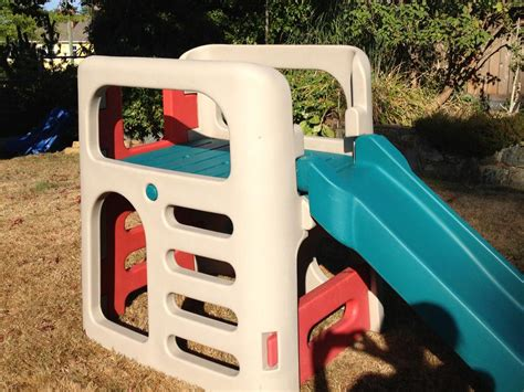 step 2 step up slide large step 2 climber and slide and teeter todder saanich