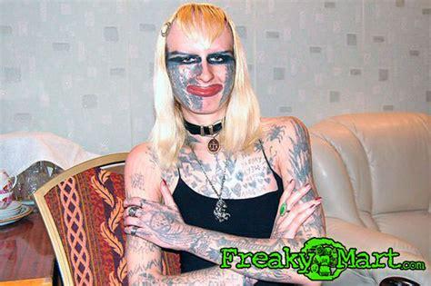 freaky tattoos permanent marilyn swag mart