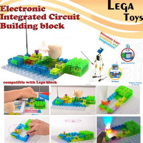 integrated circuit building blocks electronic blocks diy kits integrated circuit building blocks snap circuit model kits science