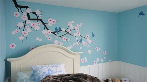 blossoms bedroom blossoms and blooms traditional bedroom edmonton by novel painting solutions inc