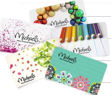 Michaels Gift Card - michael s gift card 40 for 50 card my frugal adventures