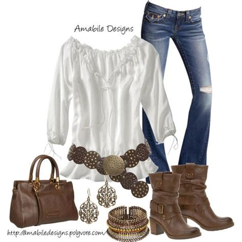 quot country chic quot style clothing combinations - Country Chic Clothing Style