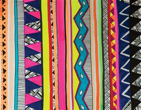 tribal pattern diy diy tribal pattern wall art sweet surrender