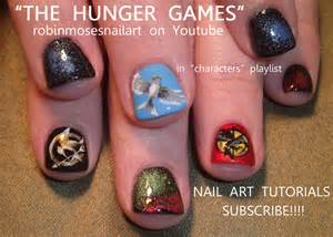the hunger games nail hunger games nail hunger games