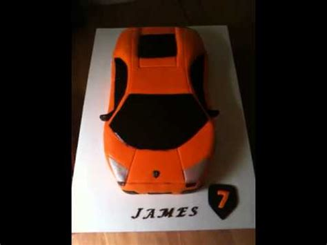 Lamborghini  Ee  Birthday Ee   Cake Youtube