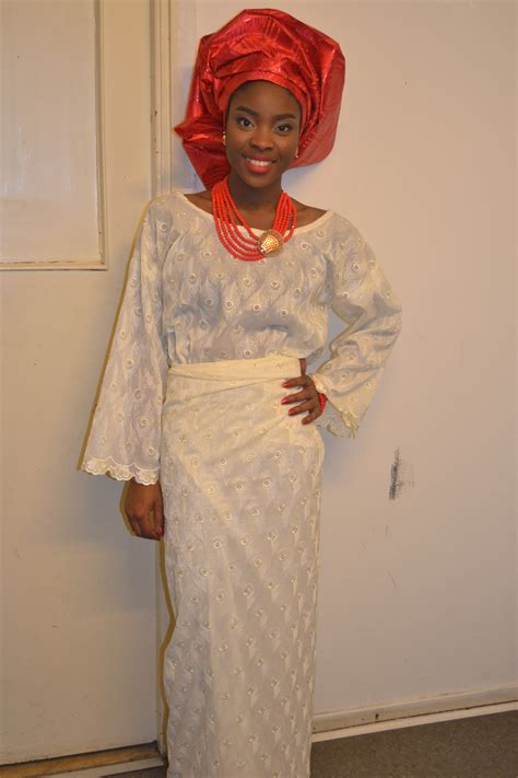 nigeria iro and buba style traditional wear iro buba lizzie elizabeth