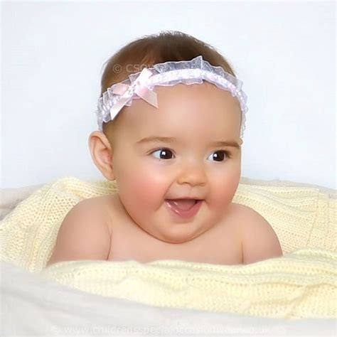 baby with headbands 52 images 12 beautiful baby baby pink organza headband with satin diamante bow