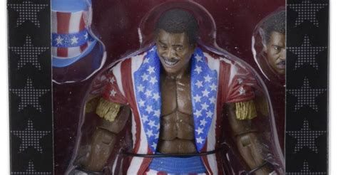 rocky 4 figures neca rocky 4 apollo creed in packaging the toyark news
