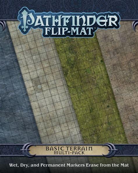 starfinder flip mat starship books pathfinder flip mat basic terrain multipack vo black