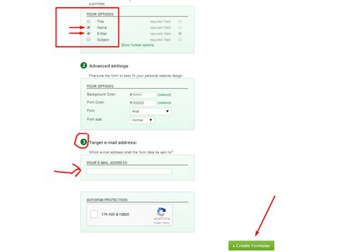 cara membuat form pada html cara membuat contact form pada blogspot klik enter