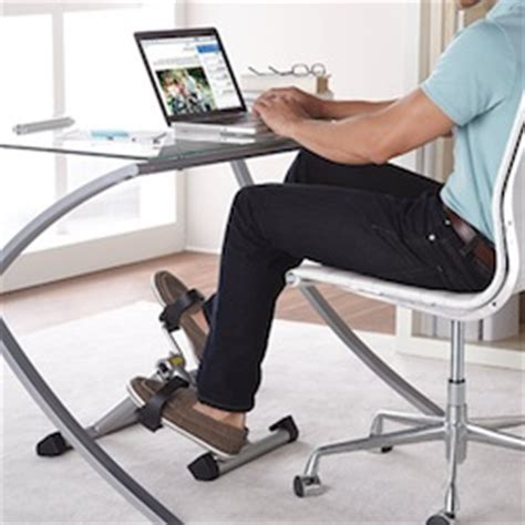 under desk foot exerciser do pedal exercisers work the inside trainer inc