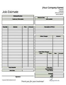 landscape maintenance estimate template invitation