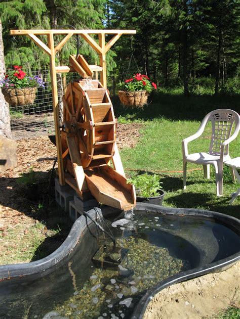 backyard water wheel water wheel google sketchup showcase ideas i have to