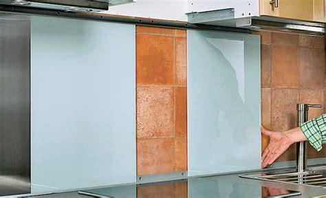 Fliesenspiegel Verkleiden Ikea by K 252 Chenr 252 Ckwand Aus Glas K 252 Che Bad Selbst De