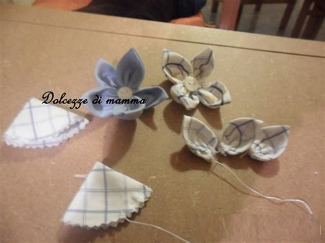 creare fiori di stoffa creare dei fiori di stoffa riciclando camicie
