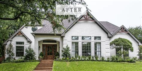chip and joanna gaines homes best 25 painted brick houses ideas on brick exterior makeover painted white brick