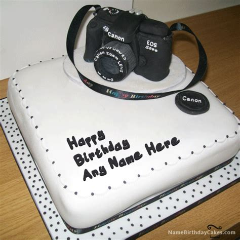 Find A Photographer by Birthday Cake For Photographer With Name