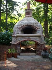 Brick Oven For Backyard by Outdoor Brick Pizza Oven Gorgeous Gardens
