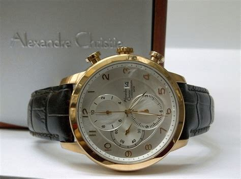 Alexandre Christie Tranqulity 2507 Silver Gold jam tangan ac 6208 mc silver gold jam tangan alexandre christie alexandre christie