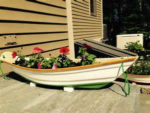 flower box nautical planters boat style by blacksealplanters