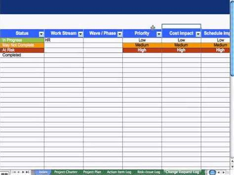 change log template project management 6 change request log project management