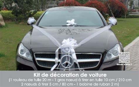 Decoration Mariage Voiture by Kit D 233 Coration Voiture Mariage Blanc 1001 D 233 Co Table