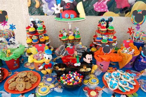 37 adorable mickey mouse birthday ideas table