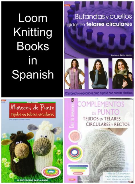 pattern books in spanish knitting books