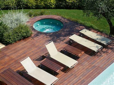 terasse mit holz terrasse aus bangkirai holz 25 tolle design ideen f 252 r